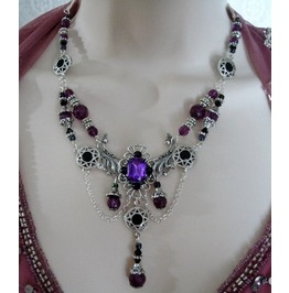 Immortal Memory Necklace, Goth Victorian Retro Fashion