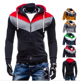 Hood Men Red Yellow Grey Green Color Hoodies Outerwear Men's Sweatshirt