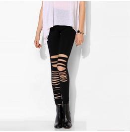 Asymmetric Cutout Leggings