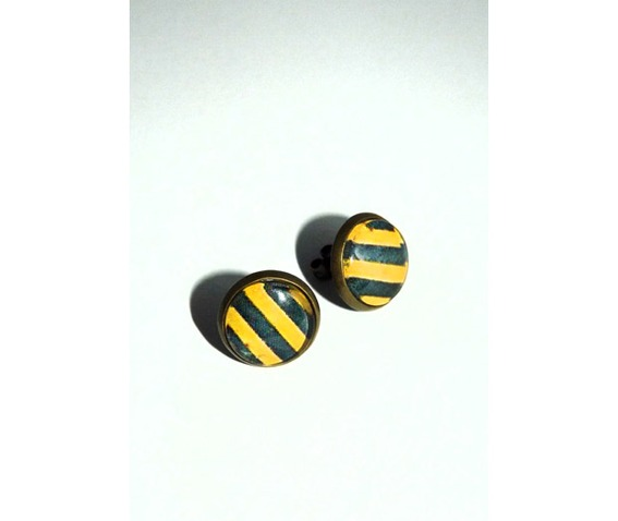 yellow_black_stripes_glass_stud_earrings_earrings_3.jpg