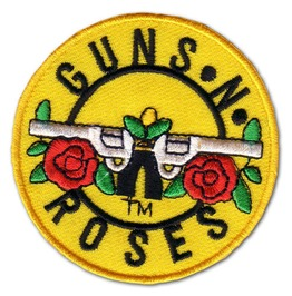 "Hard Rock ""Guns N Roses"" Iron Patch Badge Sticker"
