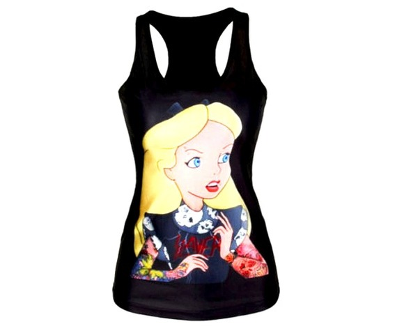 awesome_black_tattoo_alice_wonderland_design_vest_top_t_shirt_one_size_standard_tops_2.jpg