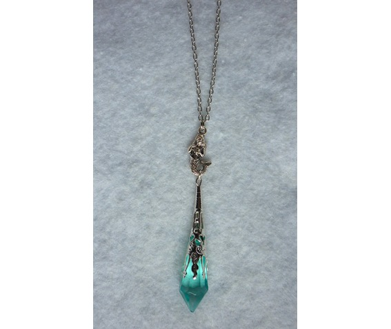 mermaid_melusine_blue_pendulum_necklace_aqua_mint_elven_wedding_necklaces_6.JPG