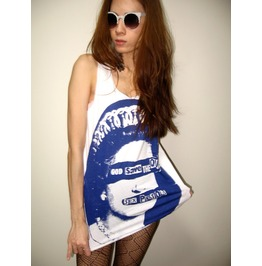 God Save Queen Sex Pistols Punk Rock Tank Top
