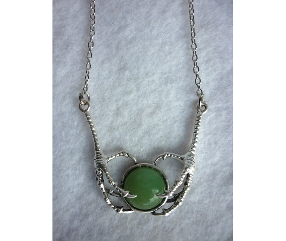 necklace green aventurine claws thrones