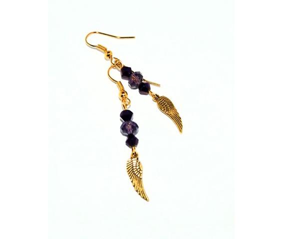 dangle_earrings_gold_wings_purple_glass_beads_earrings_3.jpg