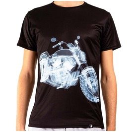 X Ray Bike Men's Printed Thermoactive T Shirt Gagaboo