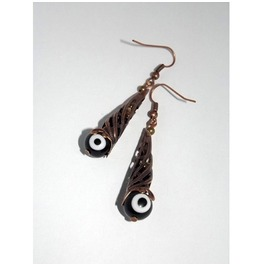 Monster Eyes Dangle Earrings