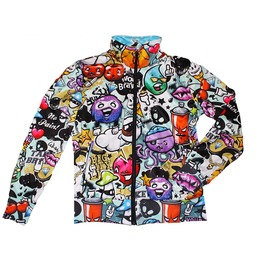 Mindfuck Men's Zipped Printed Sweatshirt Gagaboo