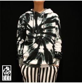 Limited Edition Original Design Dyed Women Men Black White Sweatershirt