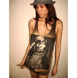 Marilyn Manson Metal Rock Goth Music Tank Top