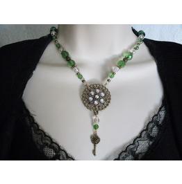 Steampunk Key Necklace, Steampunk Goth Retro Fashion