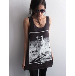 Lets Walk Moon Pop Rock Tank Top