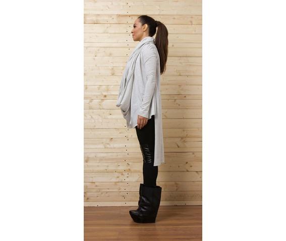 gray_asymmetrical_top_long_blouse_draped_tunic_loose_tunic_tank_tops_4.jpg