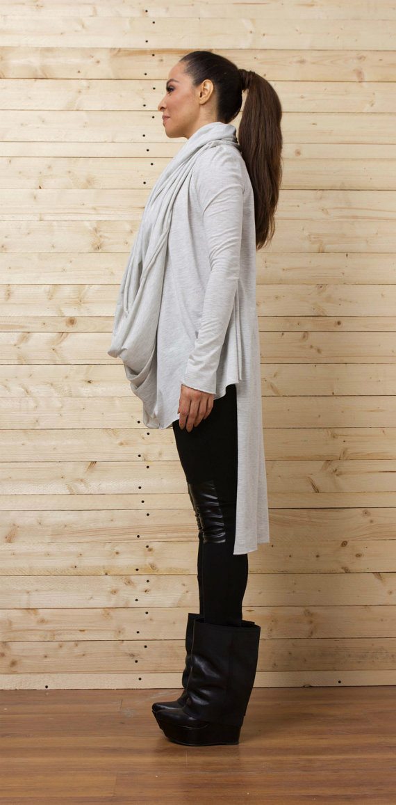 gray_asymmetrical_top_long_blouse_draped_tunic_loose_tunic_tank_tops_4.jpg