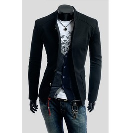 Black beige red blue colors mens pure slim collar small suit jackets jackets 9