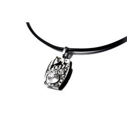 Steampunk Bdsm Mens Necklace Vintage Luxury Silvered Soviet Watch Wedding
