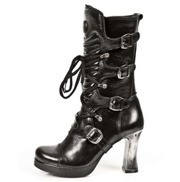 M.5815 S10 New Rock High Quality Goth Platform Heel Punk Boot $26 To Ship