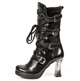 M.5815 S10 New Rock High Quality Goth Platform Heel Punk Boot $26 To Ship