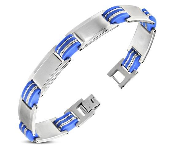 stainless_steel_blue_rubber_panther_link_bracelet_bba566_bracelets_2.jpg