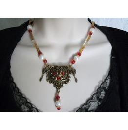 Goth Key Necklace, Goth Steampunk Retro Fashion