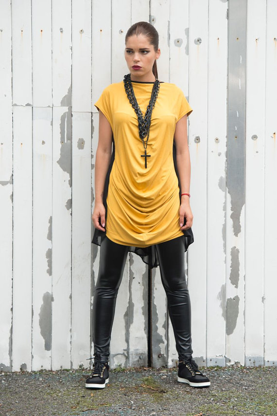 black_and_mustard_top_kaftan_loose_tunic_short_sleeve_top_tanks_tops_and_camis_5.jpg