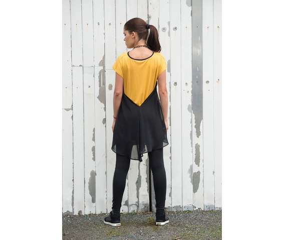 black_and_mustard_top_kaftan_loose_tunic_short_sleeve_top_tanks_tops_and_camis_5.jpg