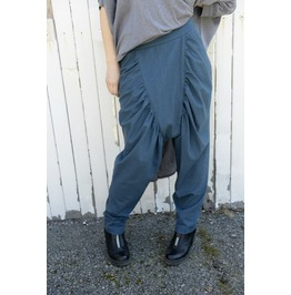 Linen Pants / Draped Trousers / Loose Pants / Drop Crotch Pants / Trousers