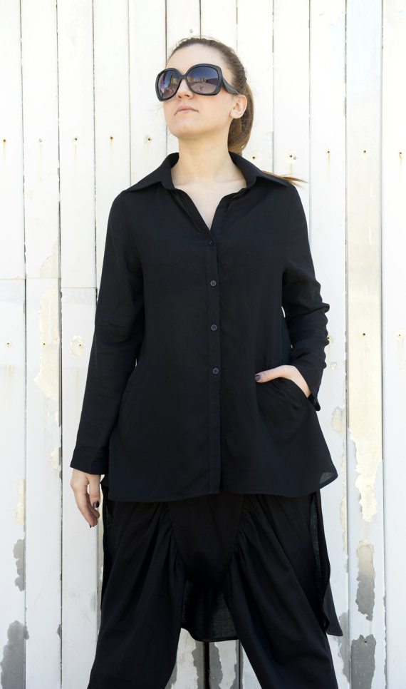 long_black_shirt_asymmetric_woman_shirt_loose_tunic_long_sleeve_top_shirts_5.jpg