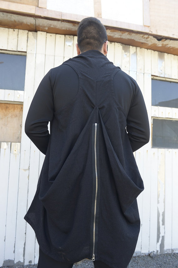 long_men_vest_zipper_vest_black_vest_extravagant_men_top_draped_vest_vests_5.jpg