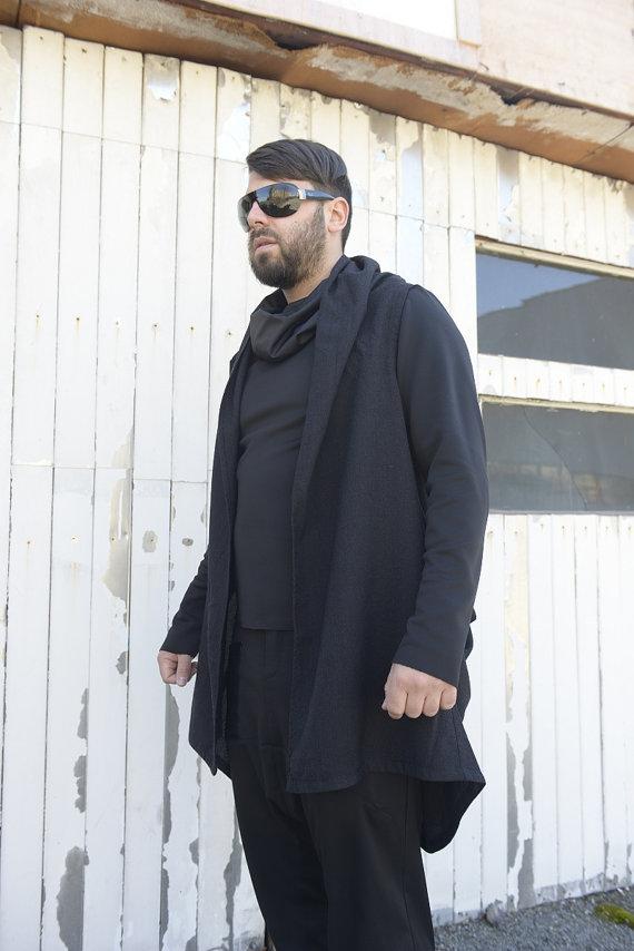long_men_vest_zipper_vest_black_vest_extravagant_men_top_draped_vest_vests_4.jpg