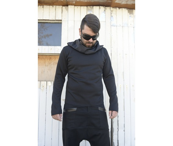 men_black_top_extravagant_blouse_asymmetrical_tunic_collar_black_tunic_tank_tops_5.jpg