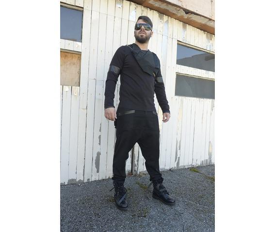 men_tunic_with_collar_black_blouse_long_sleeve_tunic_leather_design_tank_tops_5.jpg