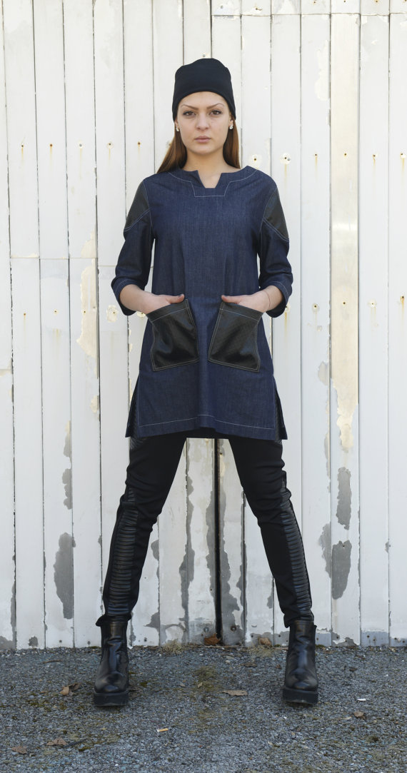 denim_leather_shirt_loose_shirt_maxi_shirt_oversize_woman_shirt_blouses_5.jpg