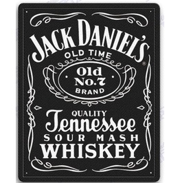 Jack Daniels Iron On Embroidered Patches Patch 4 Inches Whiskey Tennessee