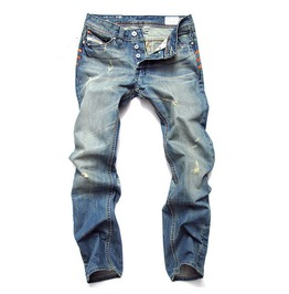 Men's Regular/Plus Sizes Straight Jeans