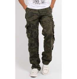 Mens Multi Pocket Military Cargo Pants