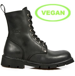 New Rock Mili084 S1 High Quality Vegan Combat Military Boot $26 To Ship