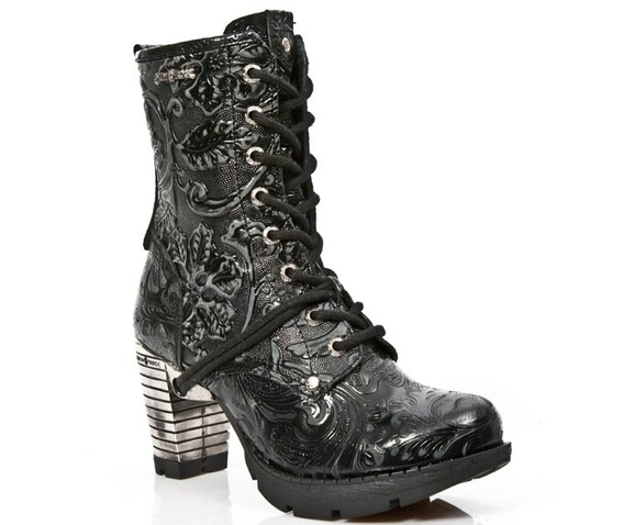 m_tr001_s24_new_rock_high_quality_black_flower_steel_heel_boot_booties_7.jpg