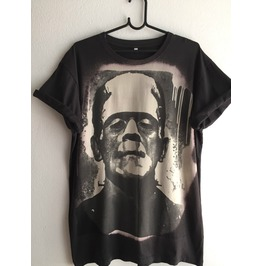 Frankenstein Classic Monster Pop Rock Fashion T Shirt Xl