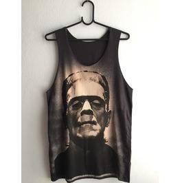 Frankenstein Fashion Pop Indie Unisex Vest Tank Top