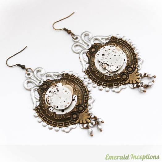 steampunk_clockwork_watch_silver_brass_earrings_earrings_5.JPG