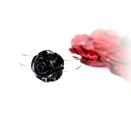 Gothic Jewelry Cuff Metal Rubies Bracelet Birthday Anniversary Gift