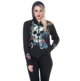 Jawbreaker Clothing Women's Dead Valentine Skull Hoodie