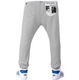 Printed Pocket 'newspaper' Men's Sweatpants