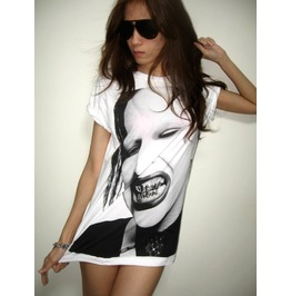 Marilyn Manson Pop Art Film Rock T Shirt S