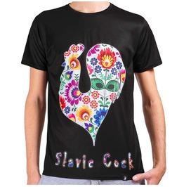 Slavic Cock Men's Printed Thermoactive T Shirt Gagaboo