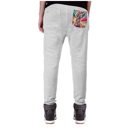 Printed Pocket 'kiss Me' Women's Sweatpants