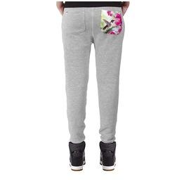 Printed Pocket 'humming Bird' Women's Sweatpants