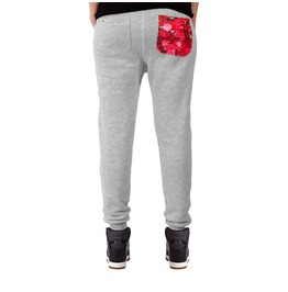 Printed Pocket 'roses' Women's Sweatpants